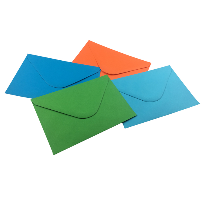 C6 Coloured Envelopes Pack 120gsm
