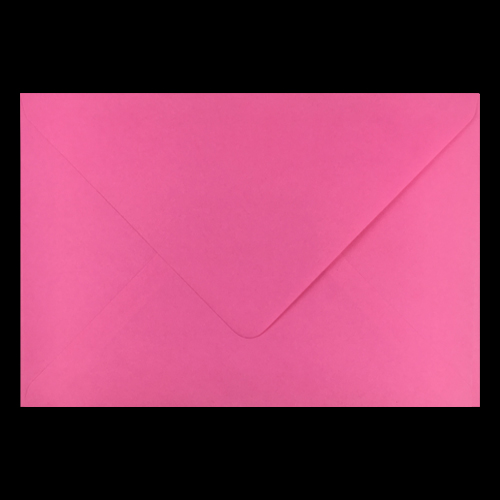 C5+ Flamingo Pink Envelopes