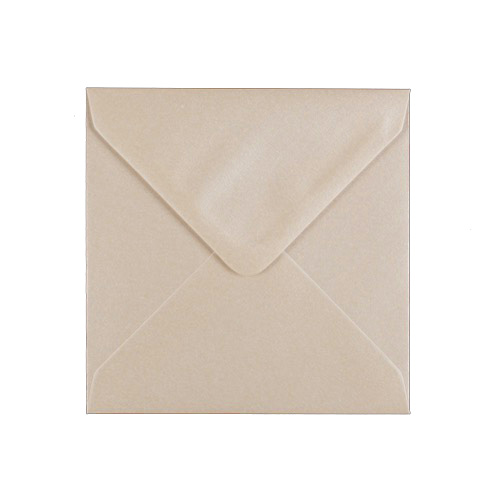 PEARL FRESH WHITE 125mm SQUARE ENVELOPES 100gsm