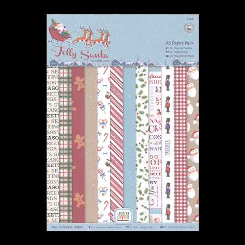 Jolly Santa Paper Pack
