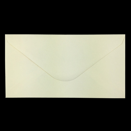 Soft Cream 114 x 214mm Envelopes