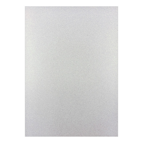 FIXED GLITTER CARD WHITE (PACK OF 2)