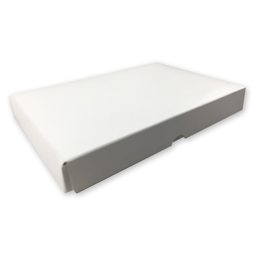 A5 (148 x 210 mm) WHITE PRESENTATION CARD BOX