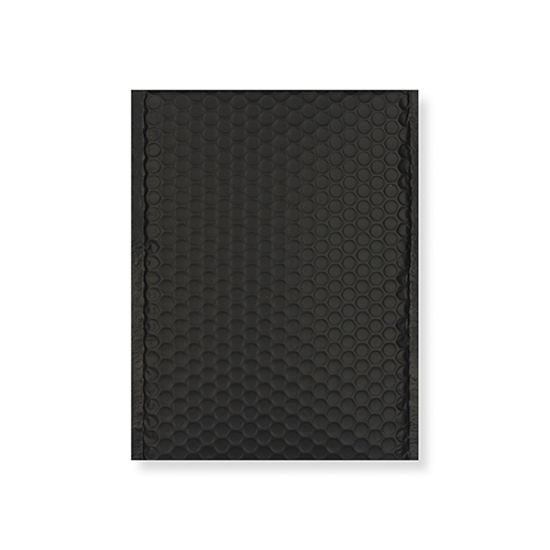 C5 + MATT METALLIC BLACK PADDED ENVELOPES (250 x 180MM)