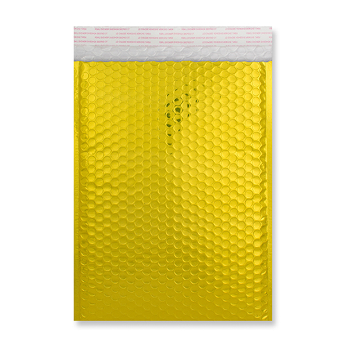 C5 gold metallic padded envelopes
