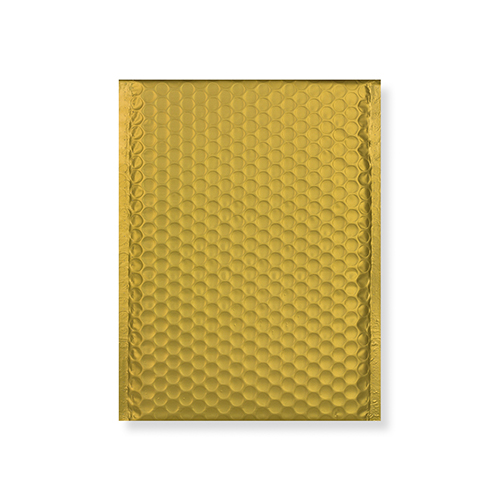 C5 + MATT METALLIC GOLD PADDED ENVELOPES (250 x 180MM)