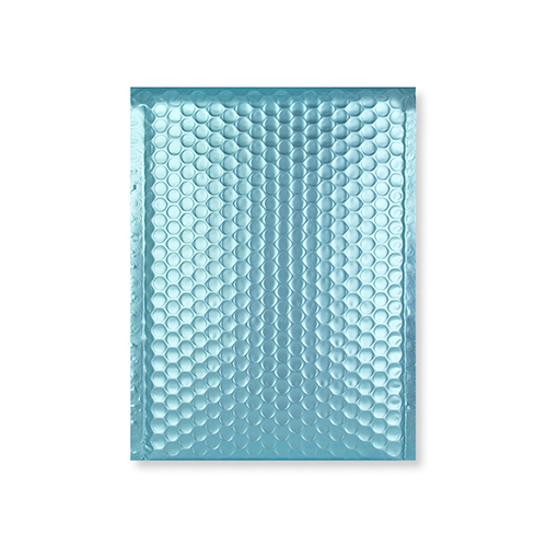 C5 + MATT METALLIC ICE BLUE PADDED ENVELOPES (250 x 180MM)