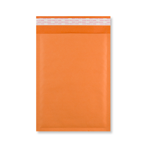 270 x 190mm orange padded envelopes