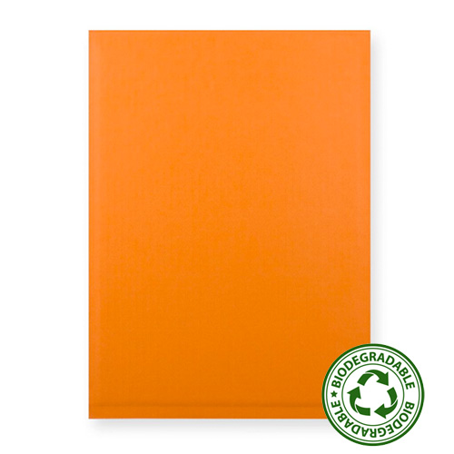 180 x 165mm ORANGE PAPER PADDED ENVELOPES