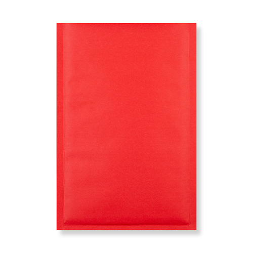 270 x 190mm red padded envelopes
