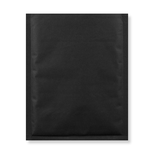 165mm square black padded envelopes