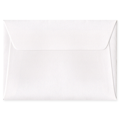 C6 Callisto Diamond White 135gsm Peel & Seal Envelopes