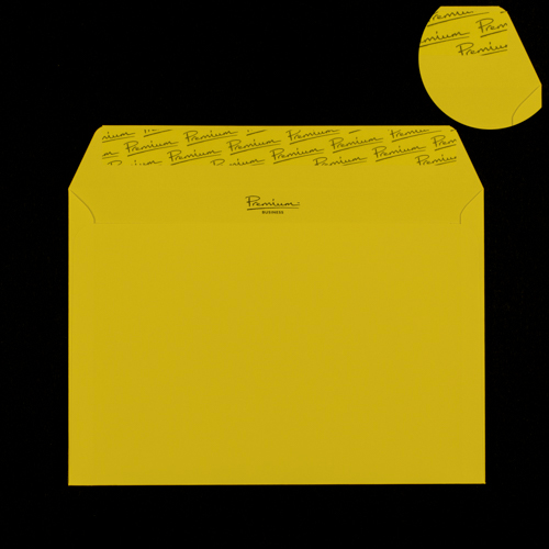 C4 Canary Yellow Envelopes