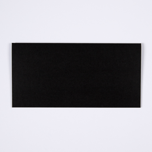 DL Black Peel & Seal Envelopes