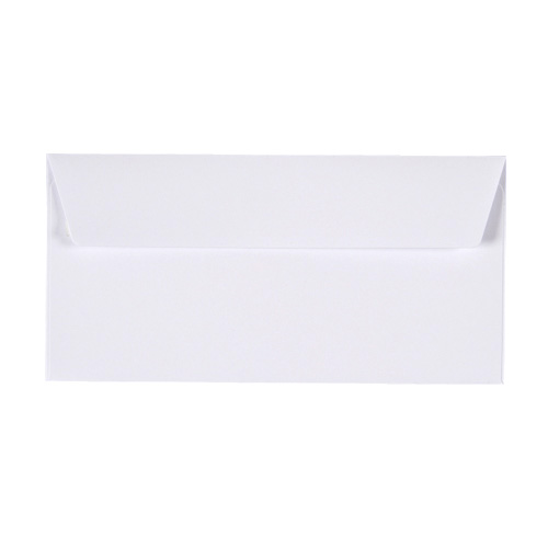 DL WHITE 180GSM PEEL AND SEAL ENVELOPES