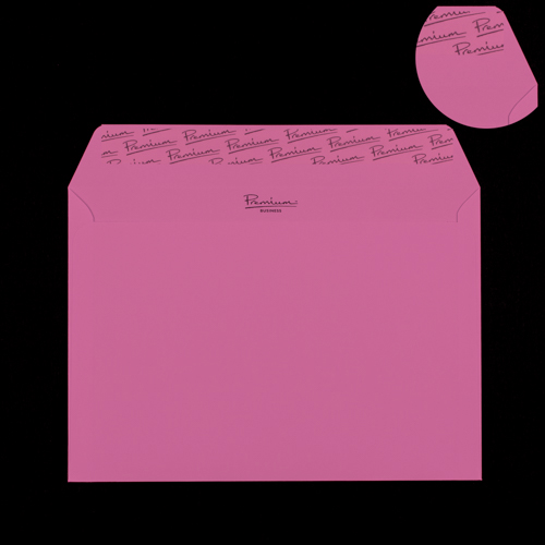 C5 Flamingo Pink Peel & Seal Envelopes