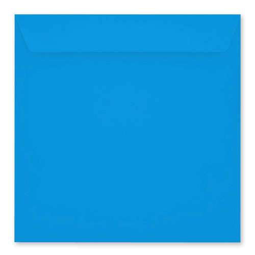 DEEP BLUE 220mm SQUARE PEEL & SEAL ENVELOPES