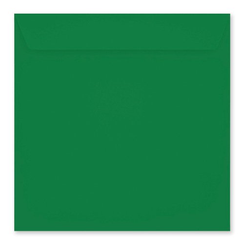 220mm SQUARE CHRISTMAS COLOURED PEEL & SEAL ENVELOPES (PACK OF 20)