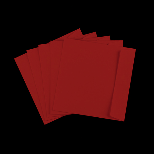 220mm Square Red Envelopes