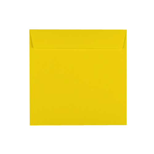 Canary Yellow 220mm Square Envelopes