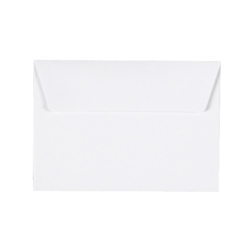 C6 WHITE 180GSM PEEL AND SEAL ENVELOPES
