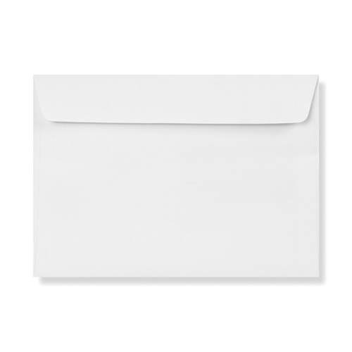 C4 ULTRA WHITE 120GSM WALLET PEEL AND SEAL ENVELOPES