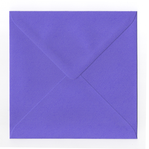 VIOLET BEAUREGARDE 155MM SQUARE ENVELOPES