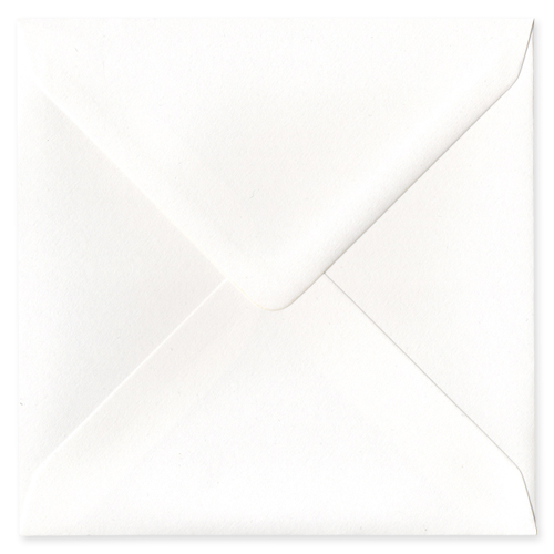 155MM SQUARE CALLISTO DIAMOND PEARL 135GSM ENVELOPES