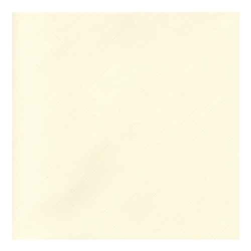 130mm SQUARE IVORY 135GSM FINE LINEN EFFECT ENVELOPES