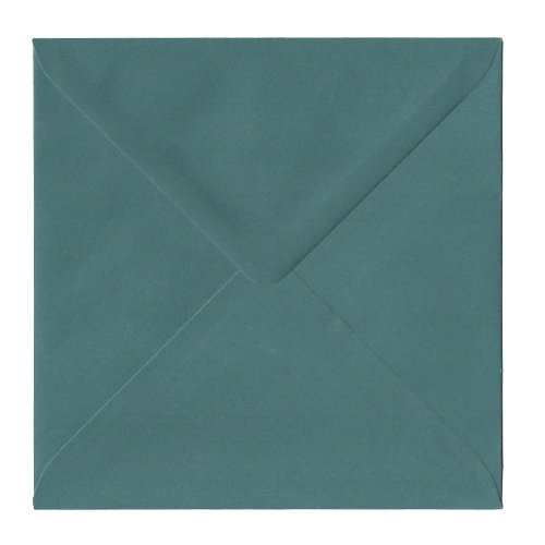 TEAL 155MM SQUARE ENVELOPES