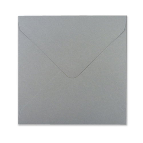 Square Grey Envelopes