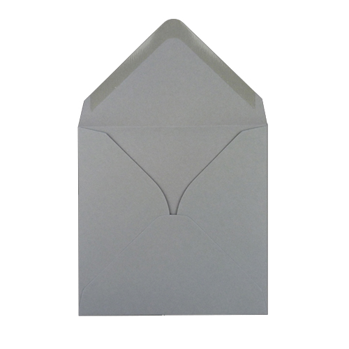 Grey Square 120gsm Envelopes