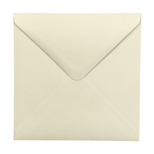 160mm Square Ivory Envelopes