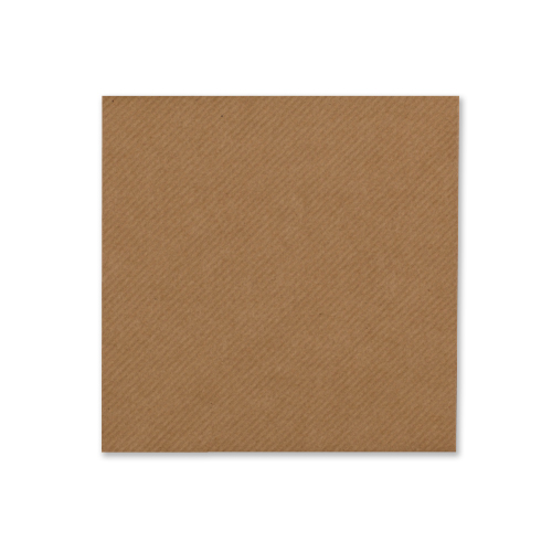 RIBBED KRAFT 100mm SQUARE ENVELOPES