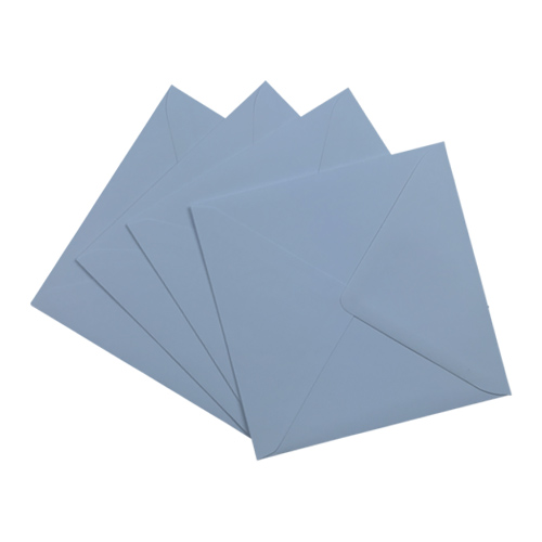 Wedgewood Blue 155mm Square Envelopes