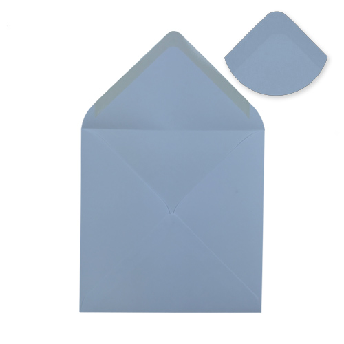 WEDGWOOD BLUE 155mm SQUARE ENVELOPES
