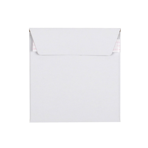 125mm SQUARE WHITE ALL-BOARD ENVELOPES 350GSM