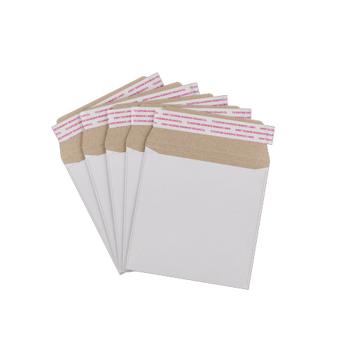 220mm SQUARE WHITE ALL-BOARD ENVELOPES 350GSM