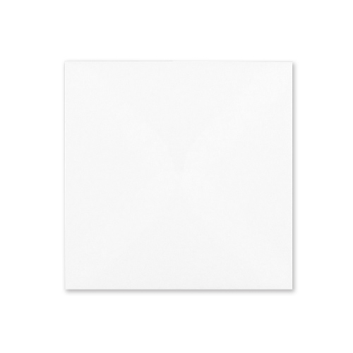 WHITE 120mm SQUARE ENVELOPE
