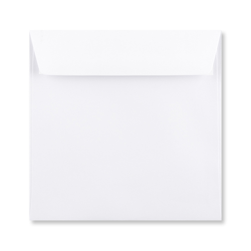 155mm Square Accent Antique Alabaster 110gsm Peel & Seal Envelopes