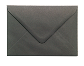 133 x 184mm Black Envelopes