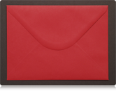 133 x 184mm Scarlet Red Envelopes