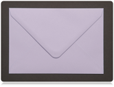 70 x 100mm Pastel Lilac Envelopes