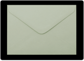 133 x 184mm Pastel Green Envelopes
