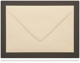 133 x 184mm Cream Envelopes