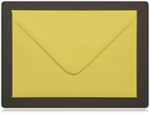 C7 Dafodill Yellow Envelopes