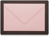 70 x 100mm Pastel Pink Envelopes