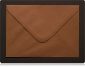 133 x 184mm Chocolate Brown Envelopes