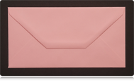 DL Pastel Pink Envelopes