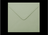 155mm Square Pastel Green Envelopes